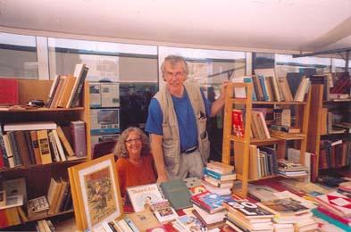 Willem Oving en Nelli Mulder van Mulder Boekenvreugd